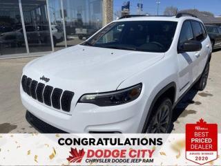 New 2021 Jeep Cherokee 80th Anniversary Edition-4WD,Nav,Remote Start for sale in Saskatoon, SK