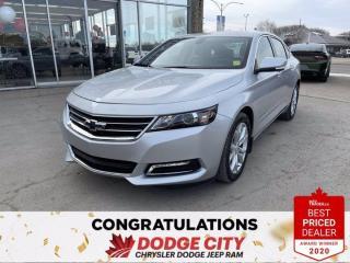 Used 2018 Chevrolet Impala L-Accident Free,Low Km,B/UCamera, Remote Start for sale in Saskatoon, SK
