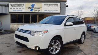 Used 2014 Mitsubishi Outlander SE 7 pass. P-Moon for sale in Etobicoke, ON