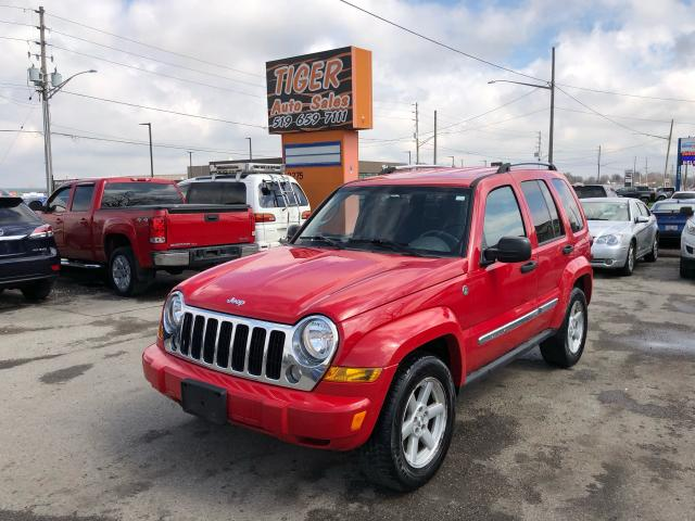 2005 Jeep Liberty LIMITED**LEATHER**4X4**ONLY 156KMS**AS IS SPECIAL