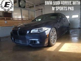Used 2016 BMW 5 Series 550i xDrive M PACKAGE!! for sale in Barrie, ON
