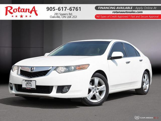 2010 Acura TSX w/Premium Pkg_Navi_Rear Cam_Bluetooth_Sunroof