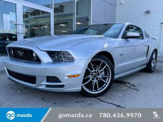 Used 2014 Ford Mustang GT - MANUAL, LEATHER, HEATED SEATS, NAV, BLUETOOTH AND MORE! for sale in Edmonton, AB