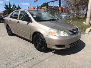 Used 2004 Toyota Corolla auto,$3988,safety+3years warranty included for sale in Toronto, ON