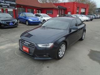 Used 2013 Audi A4 QUATTRO /  CLEAN / LEATHER / SUNROOF / A/C /ALLOYS for sale in Scarborough, ON