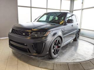 New 2021 Land Rover Range Rover Sport SVR for sale in Edmonton, AB