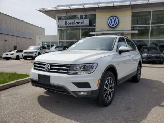 Used 2020 Volkswagen Tiguan Comfortline 4dr AWD 4MOTION for sale in Burlington, ON