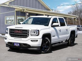 Used 2018 GMC Sierra 1500 SLE,ELEVATION,4X4,CREWCAB,REMOTE START,R/V CAM for sale in Orillia, ON