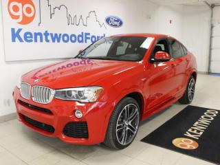 Used 2015 BMW X4 xDrive 35i X4 M   Leather   Roof   NAV   One Owner   Low KM for sale in Edmonton, AB
