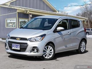 Used 2018 Chevrolet Spark LT, R/V CAM, BLUETOOTH, USB, SATELLITE RADIO for sale in Orillia, ON