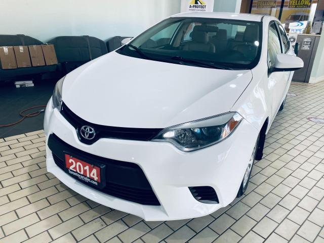 2014 Toyota Corolla LE I ALLOY I BACK UP CAMERA I CERTIFIED $9499