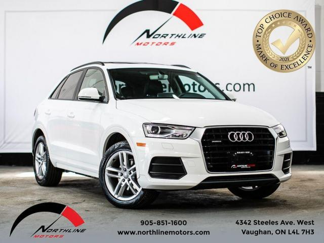 2016 Audi Q3 Komfort/Pano Roof/Heated Leather/Power Trunk