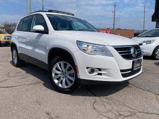 Used 2011 Volkswagen Tiguan AUTO COMFORT LINE 4Motion 4X4 PANORAMIC B-TOOTH NE for sale in Oakville, ON
