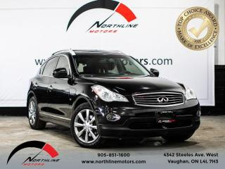 Used 2014 Infiniti QX50 Journey/Backup Camera/Sunroof/Heated Leather for sale in Vaughan, ON