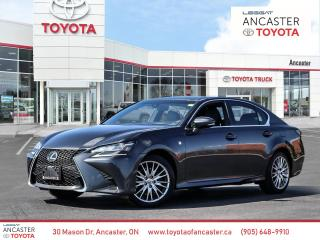 Used 2017 Lexus GS 350 GS350 | F-Sport Package | Loaded! for sale in Ancaster, ON