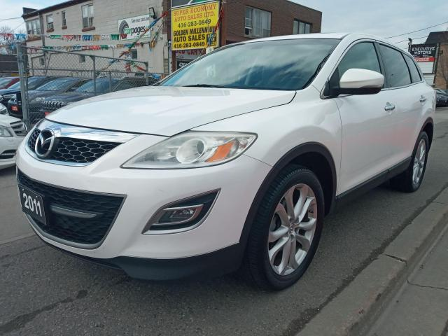 2011 Mazda CX-9 GT-7SEATS-AWD-NAVI-BK UP CAM-BLUETOOTH-AUX-ALLOYS