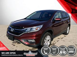 Used 2015 Honda CR-V EX-L for sale in Owen Sound, ON