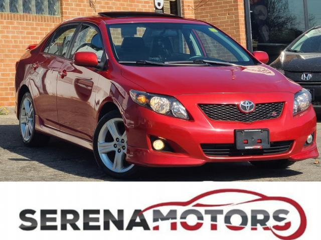 2010 Toyota Corolla S | MANUAL | FULLY LOADED | ONE OWNER | NO ACCID.