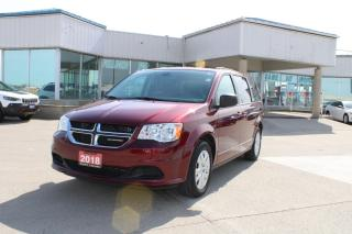 Used 2018 Dodge Grand Caravan SXT for sale in Tilbury, ON