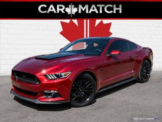 Used 2016 Ford Mustang GT PREMIUM / 50TH EDT / NO ACCIDETNS for sale in Cambridge, ON