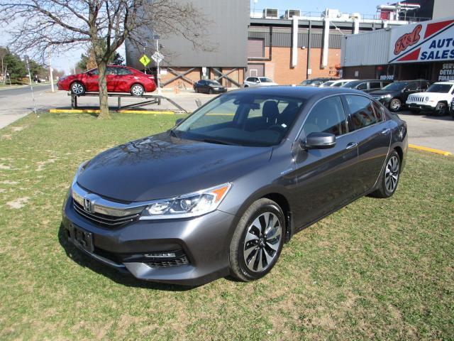 2017 Honda Accord ~ HYBRID ~ LOW KM ~ ACCIDENT FREE
