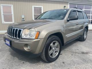 Used 2005 Jeep Grand Cherokee Limited for sale in Tilbury, ON