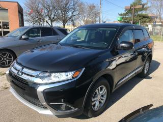 Used 2016 Mitsubishi Outlander ES,4CYL,AWD,NO ACCIDENT,SAFETY+3YRS WARRANT INCLUD for sale in Toronto, ON