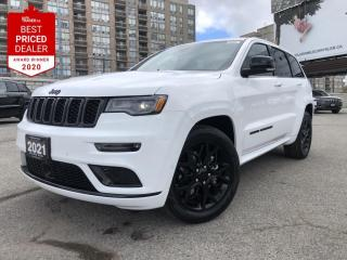 New 2021 Jeep Grand Cherokee Limited Sunroof, Lane Departure, Navi, Apple CarPlay, Android Auto for sale in North York, ON