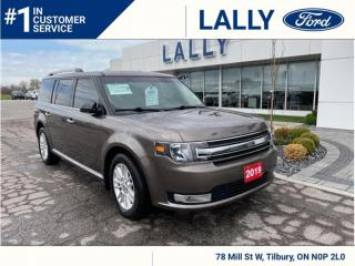 Used 2019 Ford Flex SEL, AWD, Leather, Nav!! for sale in Tilbury, ON