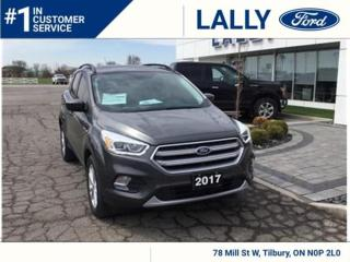 Used 2017 Ford Escape SE, 4x4,Nav, Local trade!! for sale in Tilbury, ON