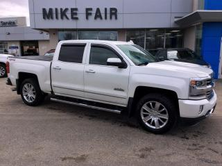 Used 2016 Chevrolet Silverado 1500 High Country Power Sliding Sunroof, Remote Start, Rear Vision Camera, Heated/Ventilated front Seats, Auto Climate for sale in Smiths Falls, ON