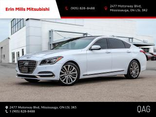Used 2019 Genesis G80 5.0 Ultimate 5.0L Ultimate|ONE OWNER|NAV|CAM|ROOF|LEATHER|CARPLAY for sale in Mississauga, ON