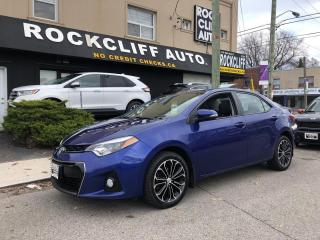 Used 2015 Toyota Corolla 4dr Sdn CVT S for sale in Scarborough, ON