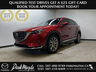New 2021 Mazda CX-9 Signature for sale in Sherwood Park, AB