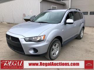 Used 2011 Mitsubishi Outlander ES 4D Utility AWD 2.4L for sale in Calgary, AB