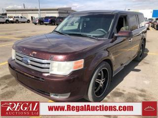 Used 2009 Ford Flex SEL 4D Utility AWD 3.5L for sale in Calgary, AB
