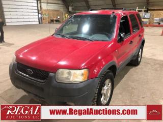 Used 2001 Ford Escape XLT 4D Utility AWD for sale in Calgary, AB