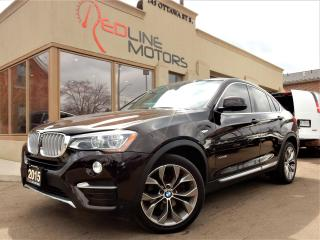 Used 2015 BMW X4 xDrive28i.Navi.360Camera.LaneDeparture.BrownLeathe for sale in Kitchener, ON