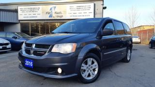 Used 2016 Dodge Grand Caravan Crew Plus for sale in Etobicoke, ON