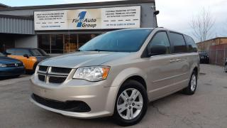 Used 2016 Dodge Grand Caravan CREW  Backup Cam/heated seats/steering for sale in Etobicoke, ON