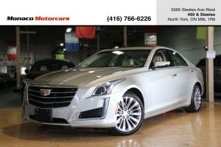 Used 2016 Cadillac CTS 3.6L V6 - LUXURY COLLECTION|SUNROOF|NAVI|BACKUP for sale in North York, ON