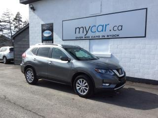 Used 2017 Nissan Rogue SV PANOROOF, ALLOYS, HEATED SEATS, BACKUP CAM, WOW!! for sale in Kingston, ON