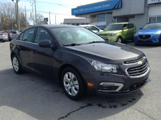 Used 2015 Chevrolet Cruze 1LT BLUETOOTH, BACKUP CAM, POWERGROUP, AWESOME VALUE!! for sale in North Bay, ON