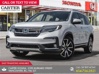 New 2021 Honda Pilot TOURING 8P for sale in Vancouver, BC