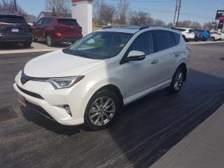 Used 2017 Toyota RAV4 LIMITED  for sale in Sarnia, ON