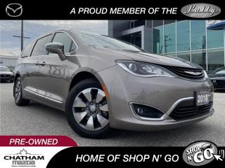 Used 2018 Chrysler Pacifica Hybrid Limited Rear Entertainment | Advanded Tec Group for sale in Chatham, ON