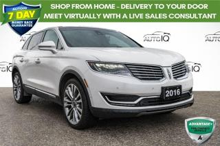 Used 2016 Lincoln MKX Reserve AWD LEATHER INTERIOR for sale in Innisfil, ON