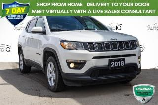 Used 2018 Jeep Compass North LOCAL LEASE RETURN | 4X4 | WINTER TIRES for sale in Innisfil, ON