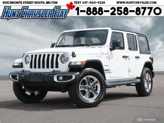 Used 2021 Jeep Wrangler SAHARA | 4X4 | 4 DOOR | AUTO | LOW KMS TRADE IN!!! for sale in Milton, ON