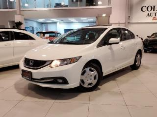Used 2015 Honda Civic Sedan TOURING-NO ACCIDENTS-NAVI-LEATHER-ROOF-CAMERA for sale in Toronto, ON